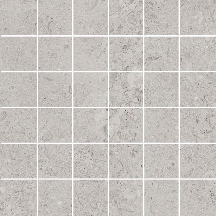 MOSAIK SHELL GREY 4,8x4,8