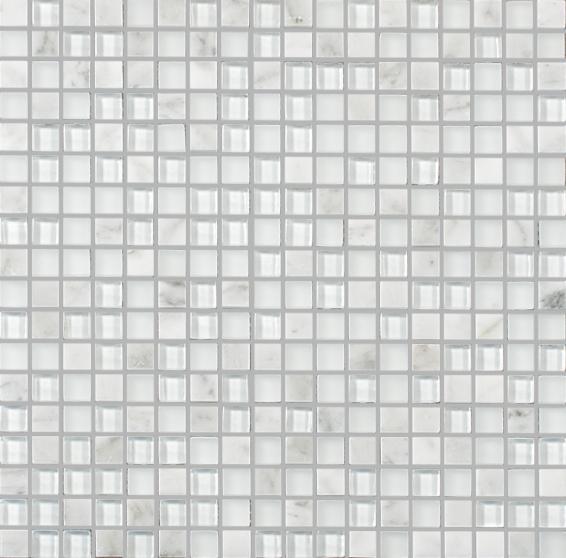 MOSAIK MARBLE MIX GLAS 15X15X8